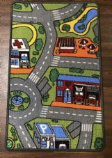 NON SLIP 50x80CM ROAD MAT WASHABLE DOORMATS QUALITY LITTLE MATS CAR MAT